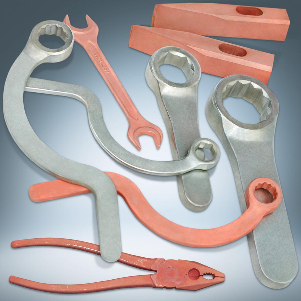 179221692 Искробезопасный инструмент: ключи гаечные ударные накидные ...